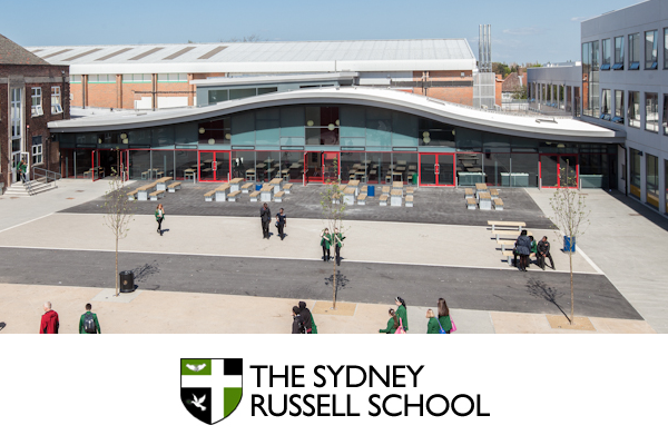 The Sydney Russell School, Dagenham. CCTV installation by Schoolwatch